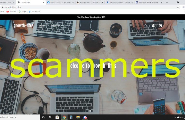 SCAM ALERT mjcontactforhelp.com & growth-lifes.online